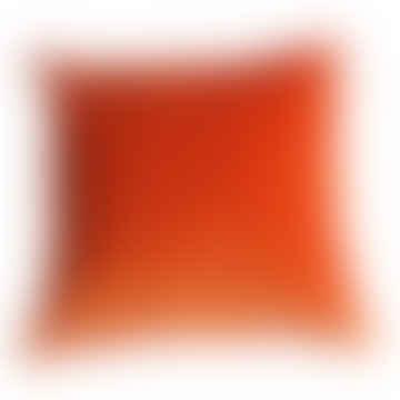 Cushion Velvet Tangerine Square