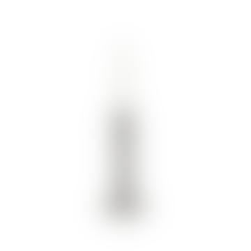 29cm Silver Polyresin Space Candlestick