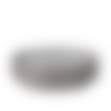 Denby Medium Stoneware Studio Grey 4 Piece Coupe Plate Set