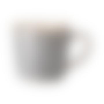 Denby 400ml Stoneware Studio Grey Ridged Mug