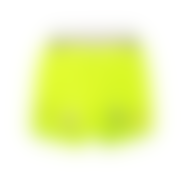 starstyling Neon Yellow Polyester Things Shorts