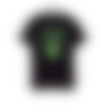 starstyling Black Cotton Brands T Shirt