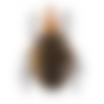 Black Dot Wooden Beetle