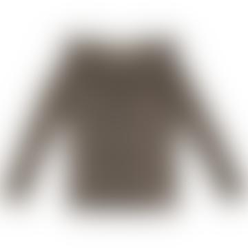 Brown Rayon Leopard Tessie T Shirt