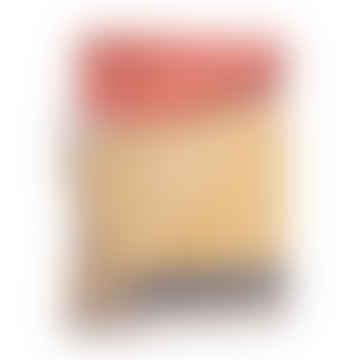 Burnt Orange & Mustard Merino Lambswool Blanket Throw