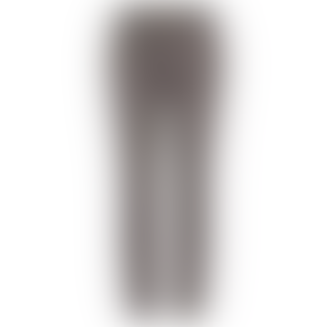 Grey Polyester Stretch Levon Capri Tailored Pant