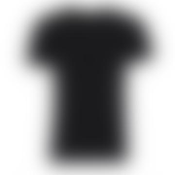 Rebel & Crown Slim Fit Black Crew Neck T-shirt