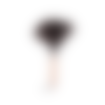 Redecker Black Ostrich Feather Duster with Wooden Handle