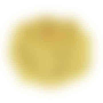 4 x Ochre Yellow Rope Napkin rings
