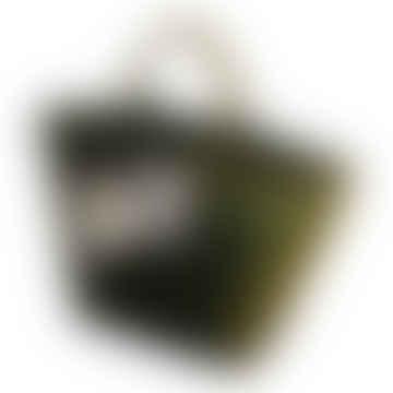 Dart Short Handled Tote Bag in Olive
