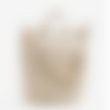 Natural Cotton Canvas Duck Shoulder Bag