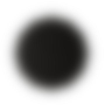 Black Twelve Sided Wall Clock