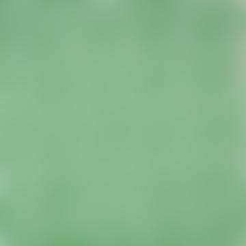 GreenWhite Puddles Fabric