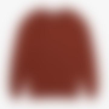Brick Knickerbocker Barge Sweater