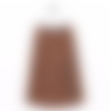 Fänkål skirt striped rust ecru black Bric-a-brac
