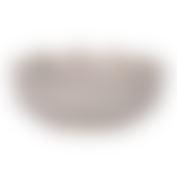 Cream Crackle Glaze Decorative Bowl