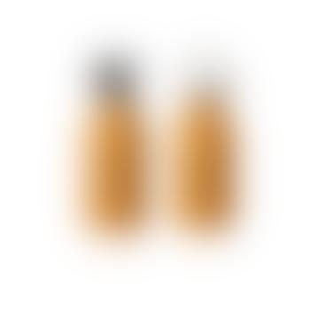 Liewood 350ml Cat Mustard Stainless Steel Water Bottle