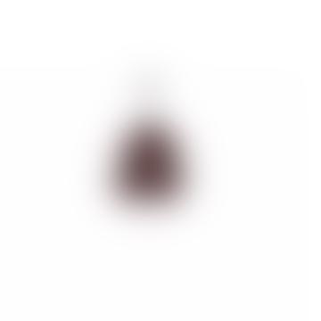Tranbär beanie rust grey black pattern Bric-a-brac
