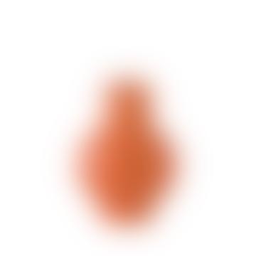 raawii Large Orange Earthenware Vase
