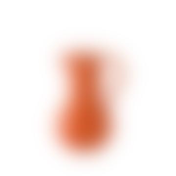 Medium Orange Earthenware Jug