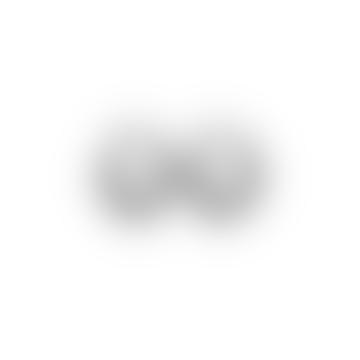 Ashley Hoop Earrings - Hematite Plating