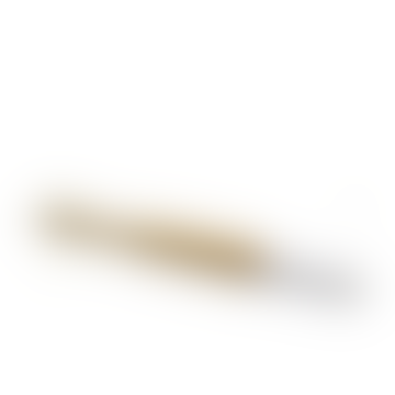 The Living Lounge Wooden Toothbrush - Biodegradable Bamboo toothbrush - White