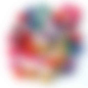 Koseli Multicoloured Felt Bead Garland