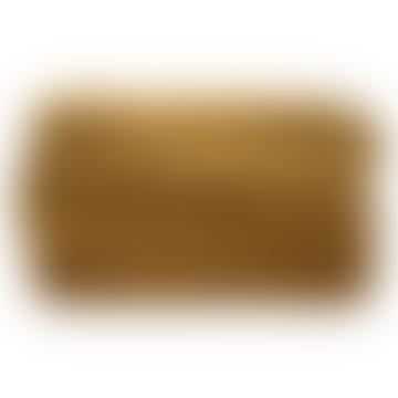 Bedspread velvet ocher (230x250)