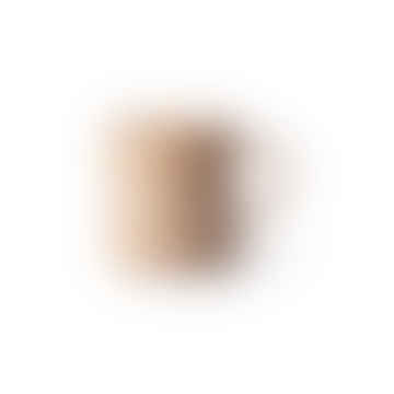 bold & basic ceramics: speckled coffee mug nude