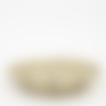 Natural/Black Dotted Palm Bread Basket