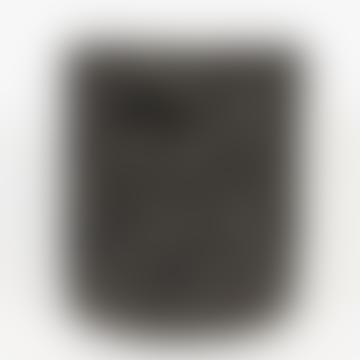 Afroart Black/natural Palm Dot Laundry Basket