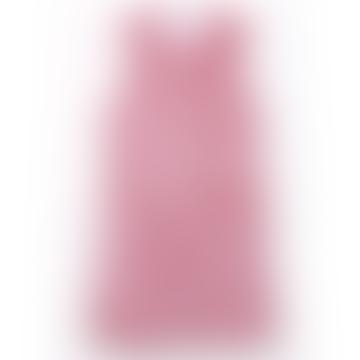 Dusty Pink Longline Ultra Soft Faux Fur Leather Panelled Gilet