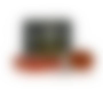 Ortigia Set of 4 40g Amber Black Soaps Box