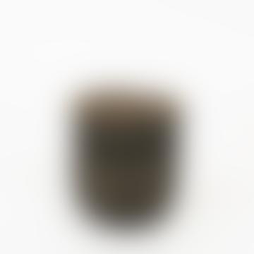 Afroart Black Iringa Rund Basket, XS size