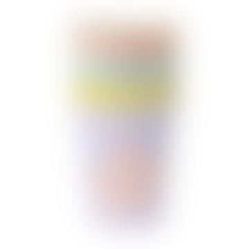 Meri Meri Pack of 8 260ml Pastel Typographic Cups