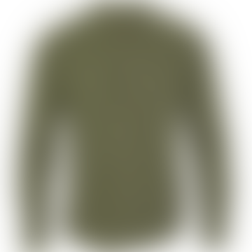 Dean Henley Mandarin Shirt Army