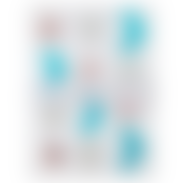Meri Meri Pack of 10 Glitter Sea Creature Sticker Sheets
