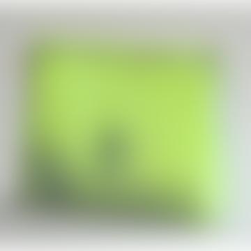 Kolor Studio magic zipper pouch grey/neon yellow