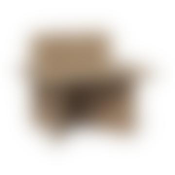 Ferm Living Oak Oblique Side Table