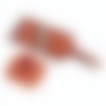 Red Krinkle Mandoline