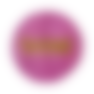 Powder Pink Cotton Shine Round Rug