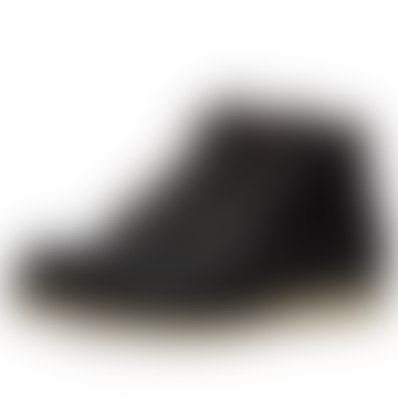 6 inch Black Prairie Leather Classic Moc Toe Mens Boots