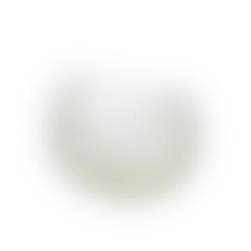 Small White Plateau Profond Basket