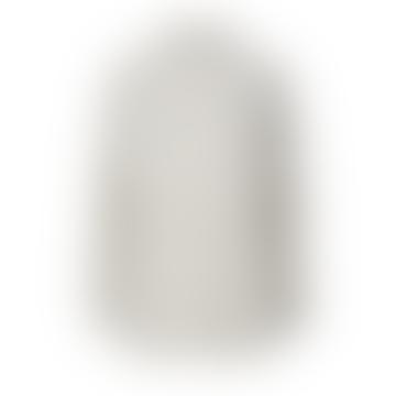 Light Grey Melange Wool Sille Turtleneck Sweater