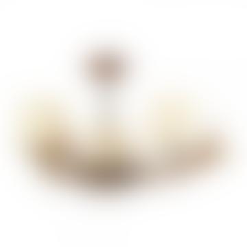 Cream Antler 3 Pendant Light