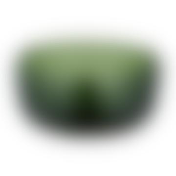 Emerald Green Glass Nibble Bowl