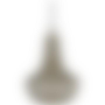 25cm Brass Metal Kingstown Ceiling Light