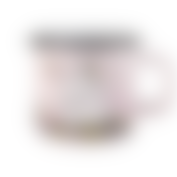 Tasse émail rose câlin Moomin 3.7dl
