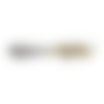 Silver Shiny Brass and Stainless Steel Jenna Leopard Butterknife