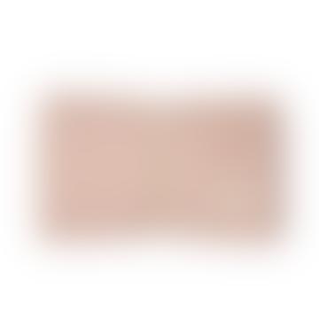 Matelas à langer imperméable Mozart en coton bio rose, 68 x 50 cm